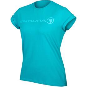 Endura One Clan Light T-Shirt Femme, pacific blue